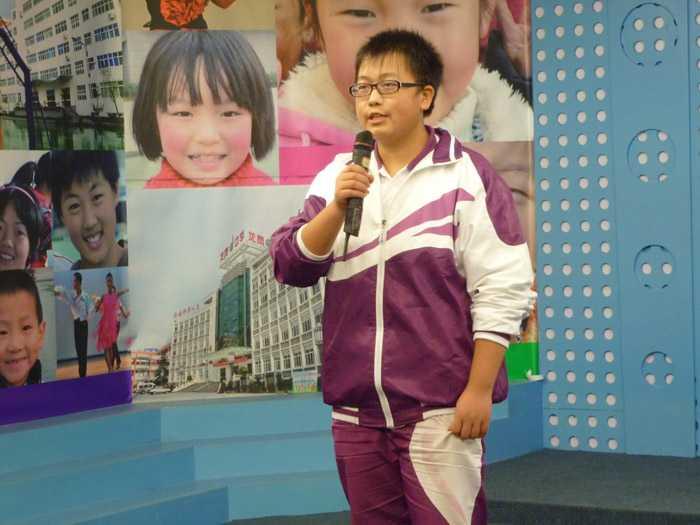 第二届校园十佳歌手复赛风采(小学组)