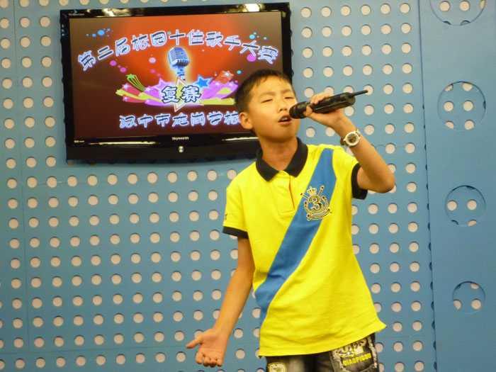 第二届校园十佳歌手复赛风采(中学组)
