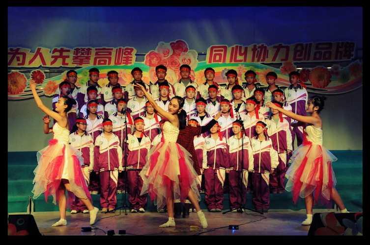 2010年九年级及高一年级歌咏比赛