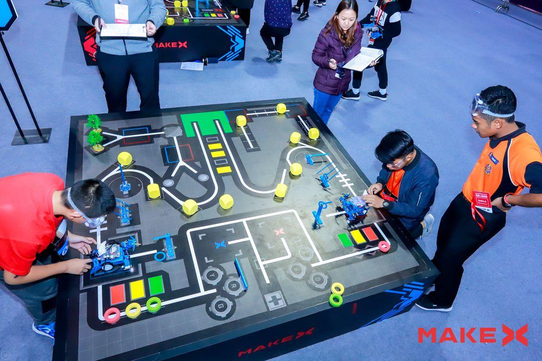 2018 makex 机器人挑战赛全球总决赛汉中市龙岗学校喜获佳绩