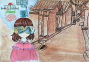 学生优秀科幻画绘画作品
