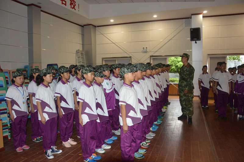汉中市龙岗学校 初中新生军训系列报道之三图片 299941 800x532
